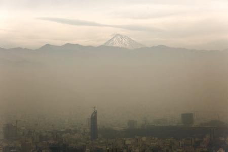 شرایط ناسالم هوای پایتخت برای گروههای حساس