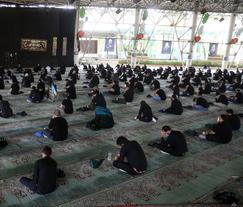 مراسم ظهر تاسوعا در دانشگاه تهران