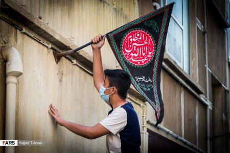 تصاویر | تهران رنگ عزای حسین (ع) گرفت