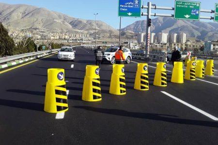 انسداد آزادراه تهران-شمال تا ۳ آبان تمدید شد