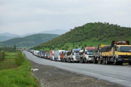 ورود کامیونهای ایرانی به قرهباغ ممنوع شد